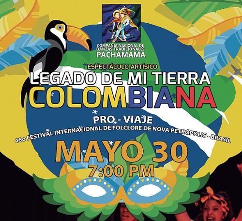 Espect culo art stico legado de mi tierra colombiana Espectaculo artistico de caracter excepcional